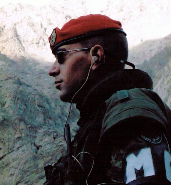 Dave Desjardins, Afghanistan 2003