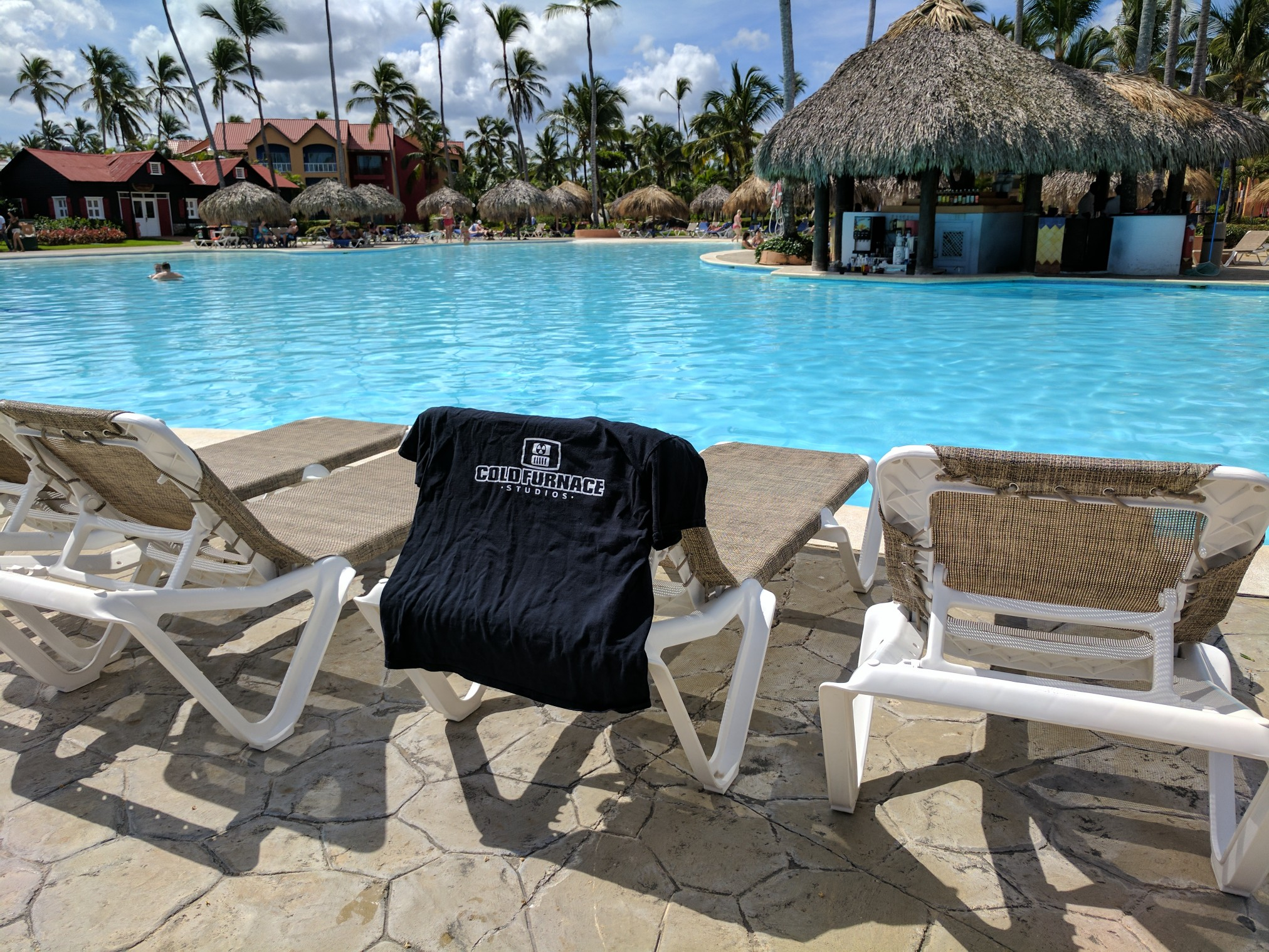 Cold Furnace tee spotted in the Dominican Republic!